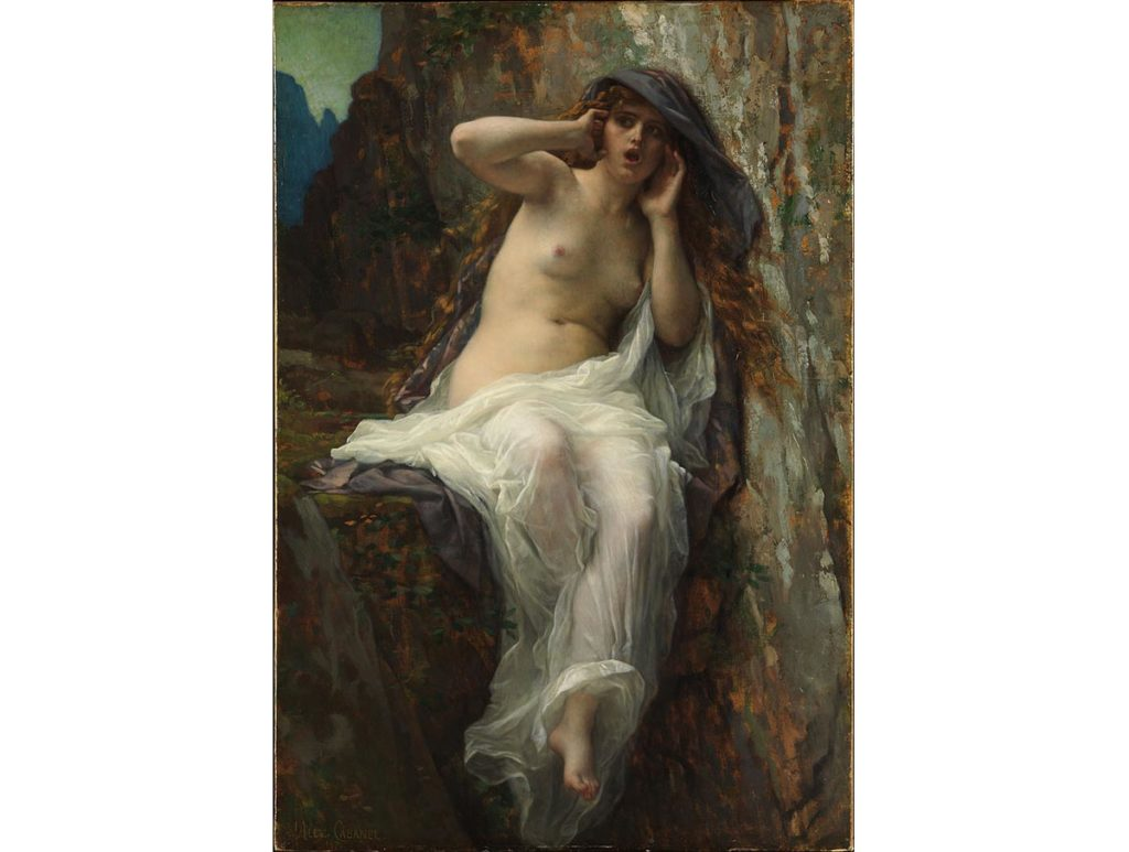 回聲-echo-希臘神話-藝術品