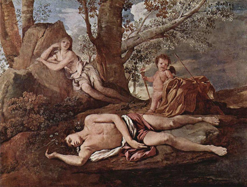 水仙花-回聲-希臘神話