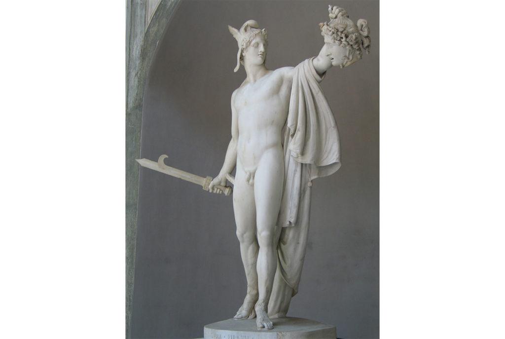 帕修斯-希臘神話-雕塑