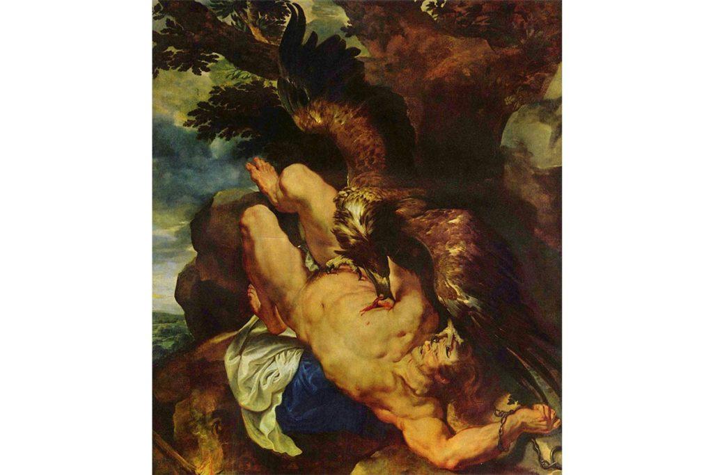 普羅米修斯-希臘神話-魯本斯