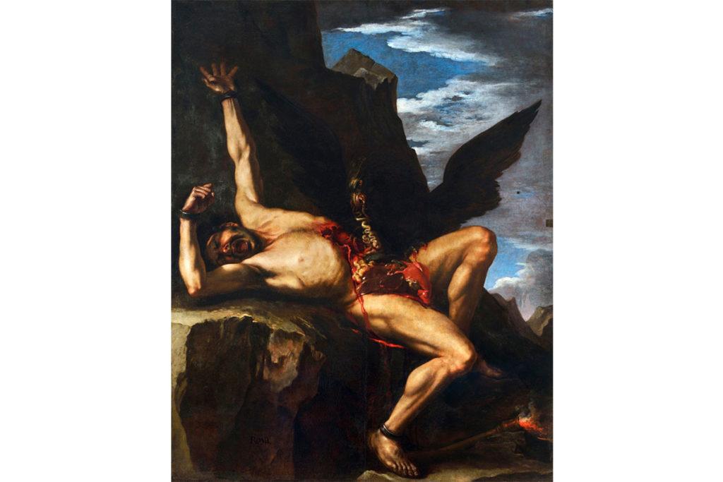 普羅米修斯-希臘神話-Salvatore Rosa