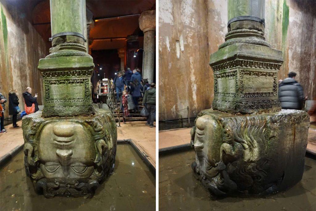 希臘神話-梅杜莎-雕像