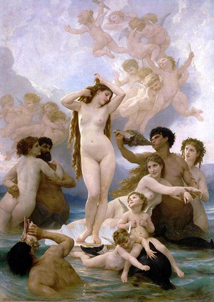 維納斯的誕生-希臘神話-藝術故事