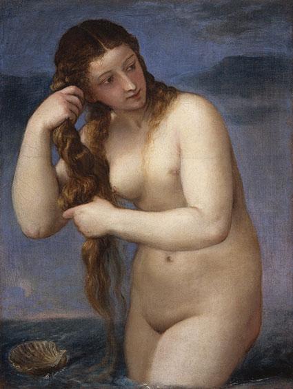 維納斯-希臘神話-藝術故事-提香