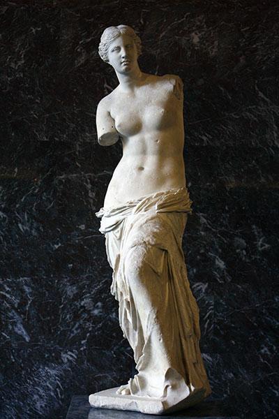維納斯的誕生-希臘神話-藝術故事-雕塑