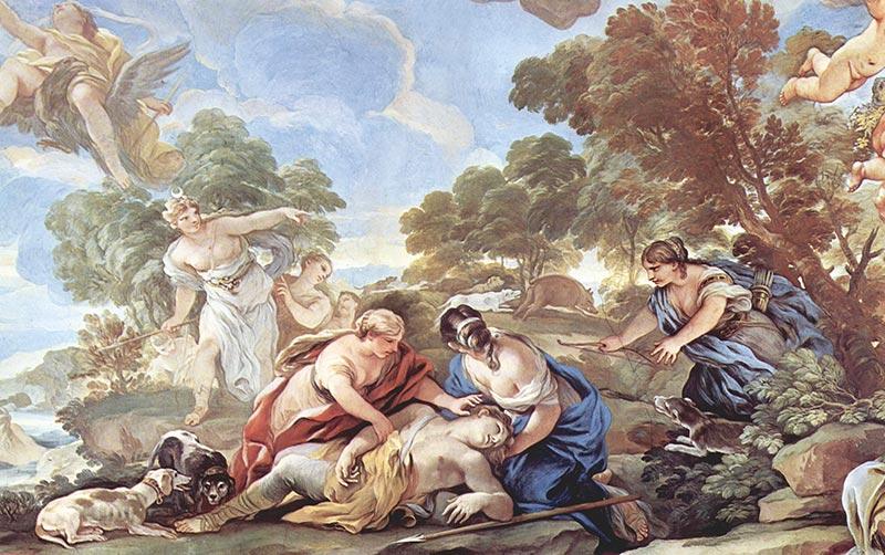 維納斯愛情-阿多尼斯-希臘神話