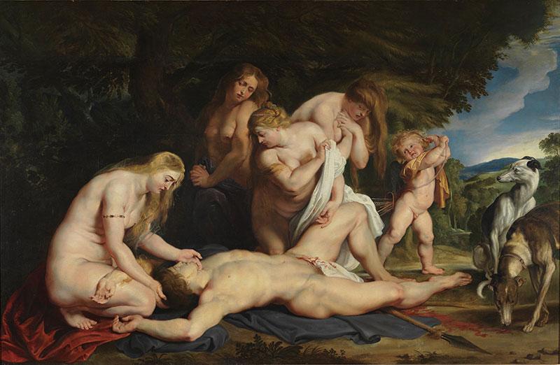 維納斯-阿多尼斯-希臘神話