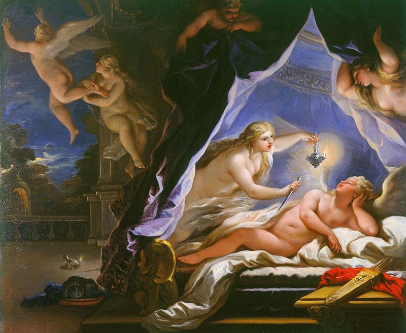 邱比特與賽姬-希臘神話