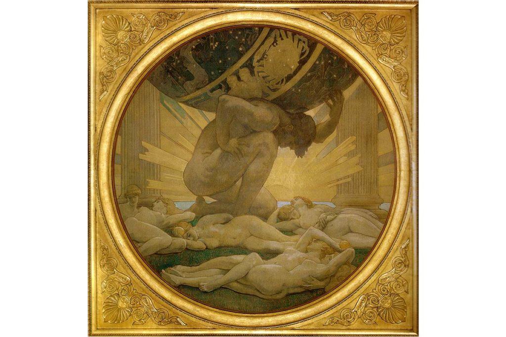 阿特拉斯-希臘神話