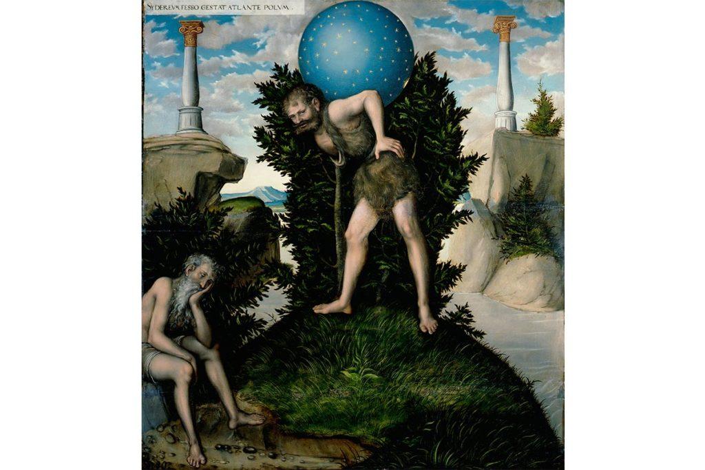 阿特拉斯-希臘神話-藝術故事