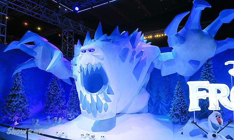 冰雪奇緣特展評價-雪怪-展覽心得