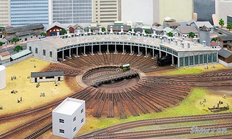 鐵道動態模型-鐵道部園區介紹-鐵道展覽
