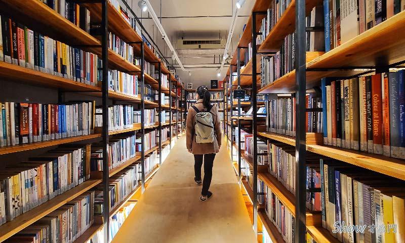 不只是圖書館-可以借書