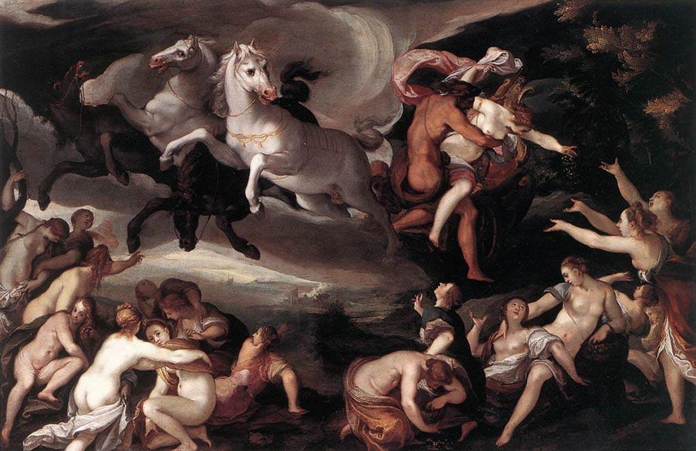 冥王黑帝斯-被劫持的波瑟芬妮