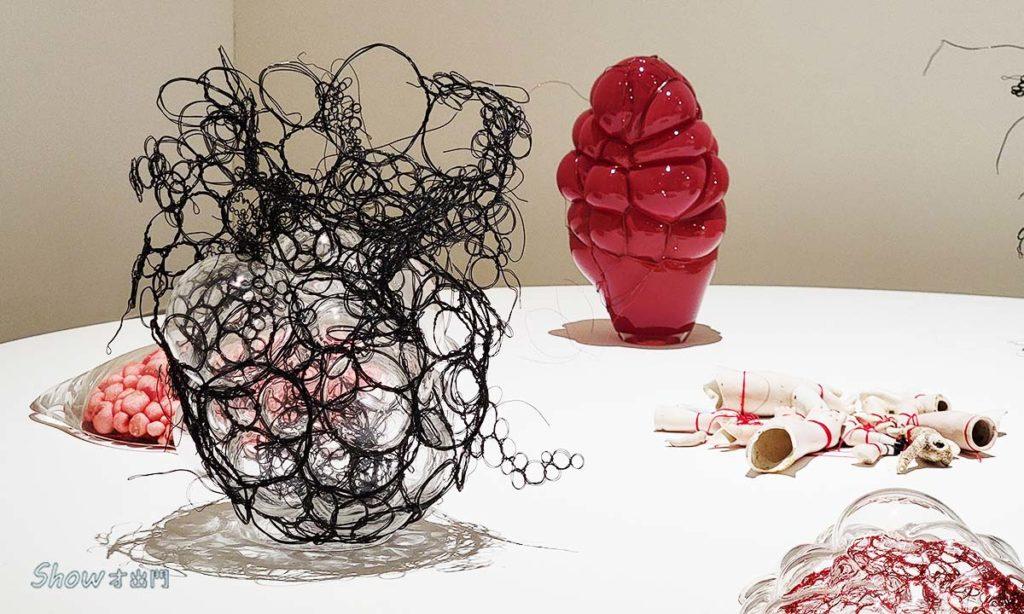 塩田千春展覽-最新作品