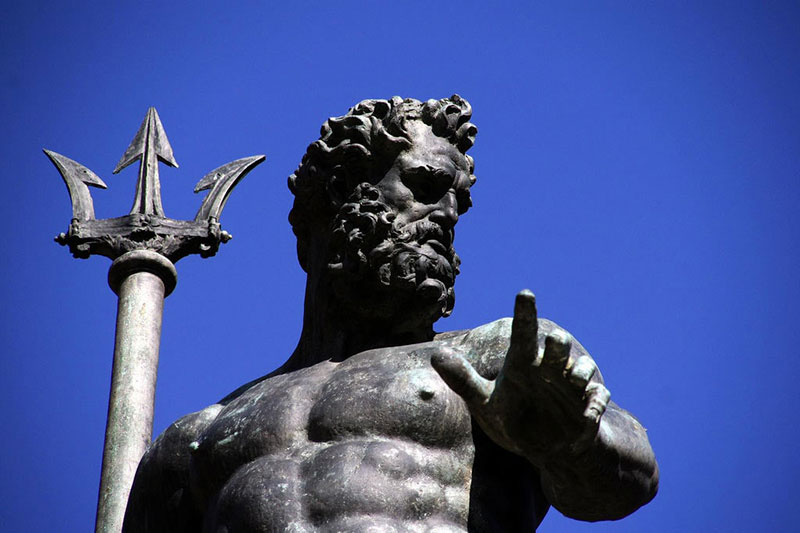 波賽頓-海神雕塑