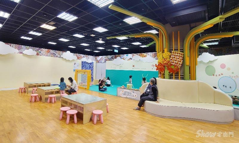 台灣美術館兒童區-兒童圖書館