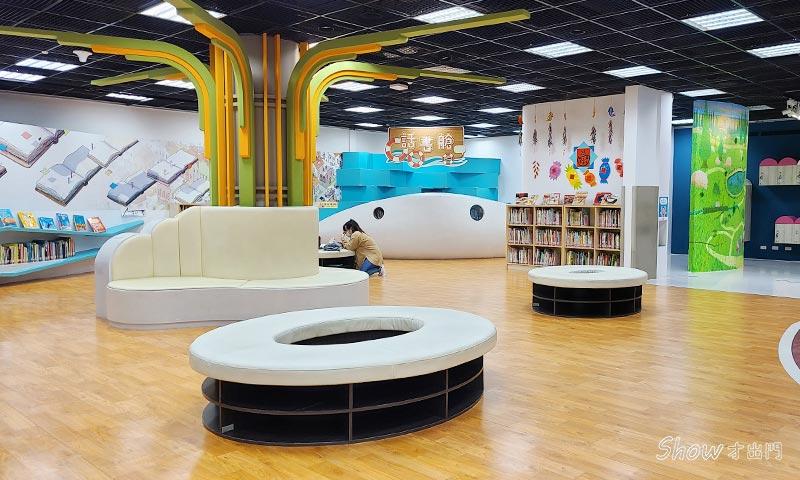 台灣美術館兒童區-繪本圖書館