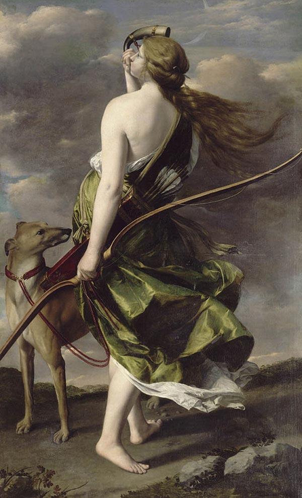 阿提米絲-黛安娜-希臘神話