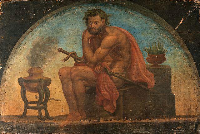 西方醫神-阿斯克勒庇俄斯