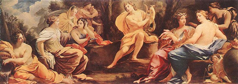 阿波羅-謬思女神-神話