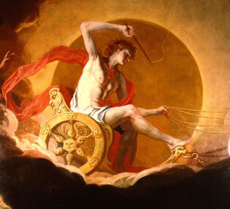 阿波羅-太陽神-赫利俄斯