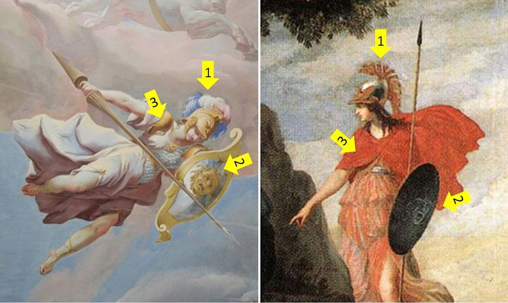 奧林帕斯十二神-雅典娜