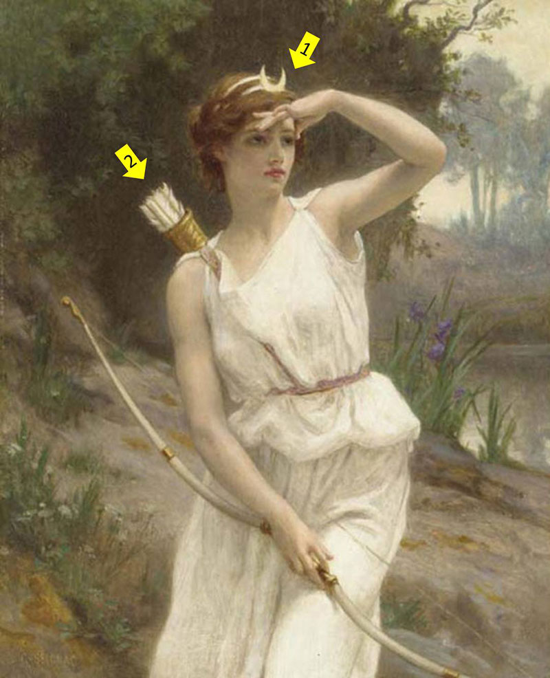 奧林帕斯十二神-阿提米絲