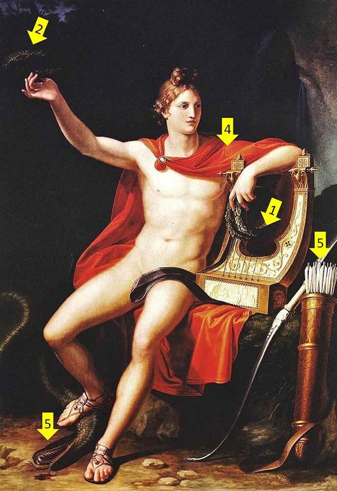 奧林帕斯十二神-阿波羅