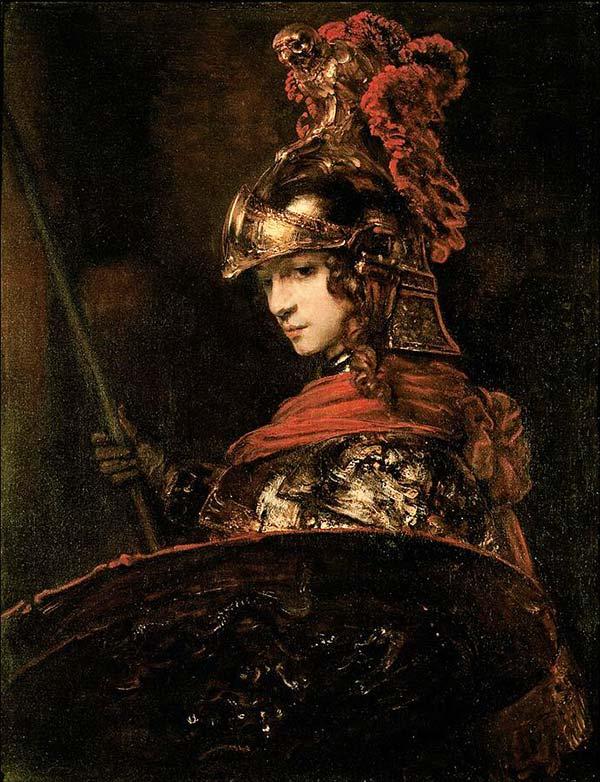 雅典娜-智慧女神