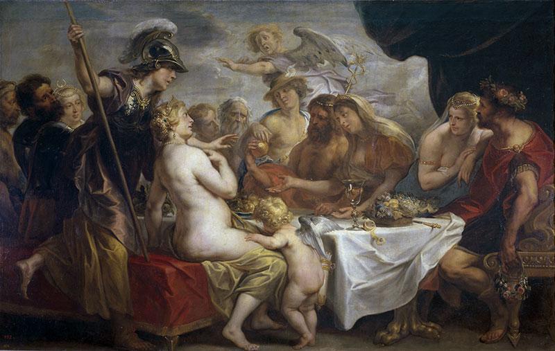 特洛伊戰爭-佩琉斯和忒提斯的婚禮
